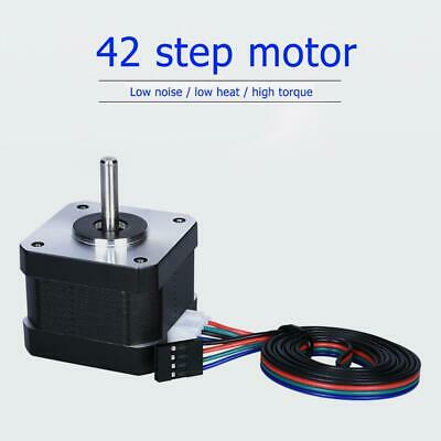 NEMA17 17HS3401S 1.5A 38mm 4-Lead 42 Stepper Driving Motor for 3D Printer Tools