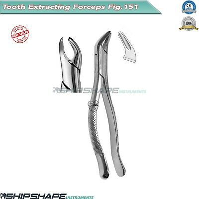 Tooth Extracting Forceps # 151 Universal Dental Oral Extraction Procedures Tools