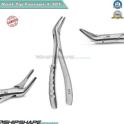 Tooth Extracting Root Tip Forceps # 301 Dental Oral Extraction Procedures Tools