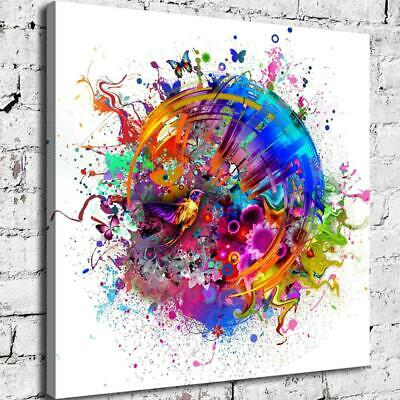 Abstract Colors HD Canvas Print Painting Home Decor Picture Room Wall Art Poster