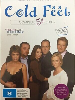 COLD FEET - Series 5 2 x DVD Set AS NEW! Complete Fifth Season Five