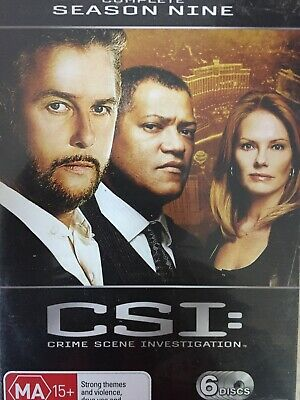 CSI - Season 9 6 x DVD Set Excellent Cond! Complete Ninth Series Nine