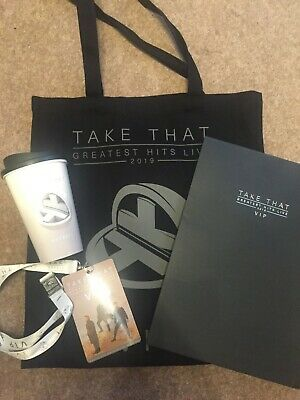 Take That Greatist Hits Tour 2019 VIP Pack