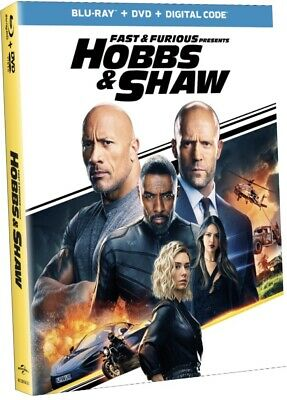 Fast & Furious Presents Hobbs & Shaw ( BluRay+Dvd+Digital ) PRE-ORDER NOW! 11/5