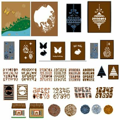 Decor Crafts Metal Scrapbooking Cards Making Embossing Stencil Cutting Dies