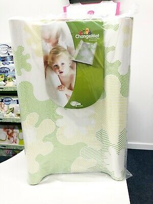 Unopened, Ex Display BabyDam Padded Baby Nappy Changing Mat High Sides - Green