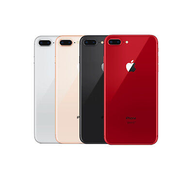 Apple iPhone 8 Plus 256GB AT&T A1897 Space Gray Gold Silver Red Free Shipping