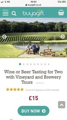 Wine/beer Vineyard And Brewery Tour Evoucher For 2