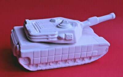 Tank Trinket Box Pottery Bisque Ready To Paint 18 x 9 x 7cm - Box of 6
