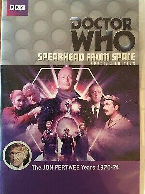 DOCTOR WHO - Spearhead From Space Special Edition DVD BBC AS NEW! Jon Pertwee