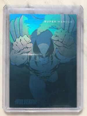 1992 Marvel Universe Series 3 HOLOGRAM Chase Card #H-3 WOLVERINE Impel