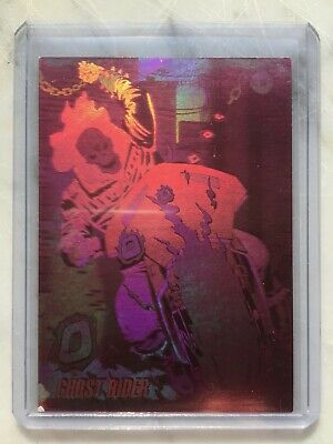 1992 Marvel Universe Series 3 HOLOGRAM Chase Card #H-5 GHOST RIDER Impel
