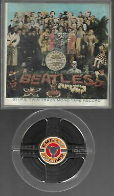 2 Spur Tonband Reel to Reel : The Beatles - Sgt. Pepper's lonley heart Club Banp