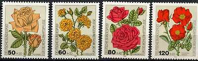 West Germany 1982 SG#2004-7 Roses Flowers MNH Set #E5295