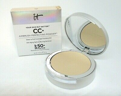 It Cosmetics Your Skin But Better CC+ Airbrush Perfecting Powder ~ Light ~