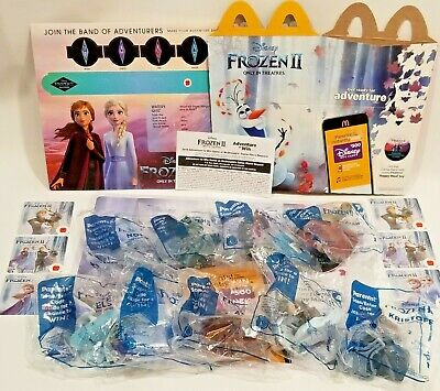FROZEN 2 🧊 2019 McDonalds Happy Meal Toys #1 - #9 +Sets [NOW 💥 STOCK! 😁]