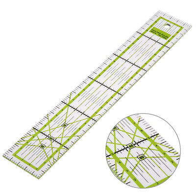 1 pc Quilting Ruler Clear Precision Acrylic Sewing Rulers for Patchwork Slitting