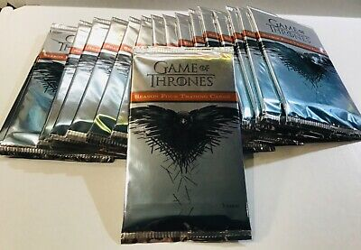 2015 Game Of Thrones Season Four Pack Lot Of (17) Unopened Packs Rittenhouse