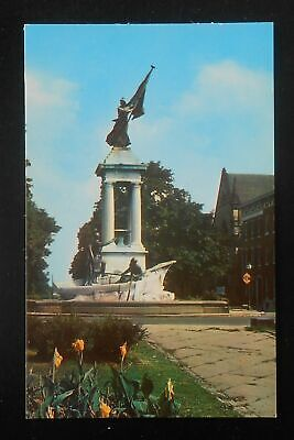 Francis Scott Key Monument at Eutaw Place in Baltimore MD Postcard