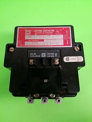 Square D Lighting Contactor Class 8903, Type SQO 2, Series 4. 100a, 600V