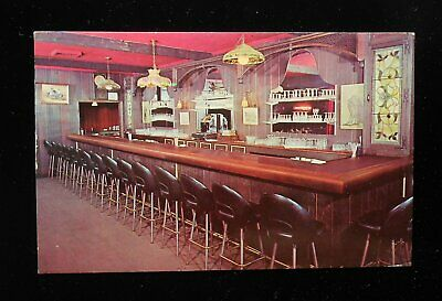 1968 Interior Bar The Old Union House Wharf Avenue Red Bank NJ Monmouth Co PC