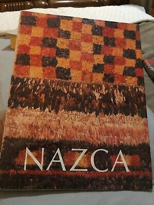 BOOK - NAZCA Pre-Columbian Art Peru , Ceramics, Textiles, Gold