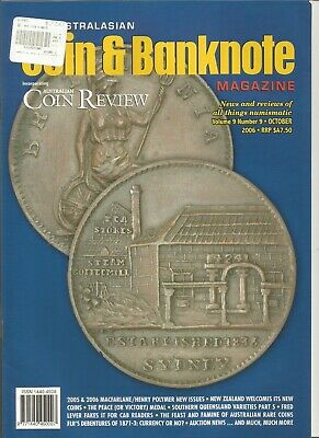 The Australasian Coin & Banknote Magazine / October 2006