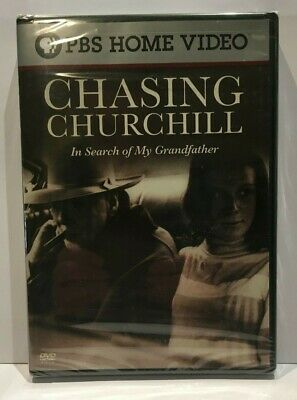 Chasing Churchill -  In Search of My Grandfather (PBS DVD) (NEW)  - Celia Sandys