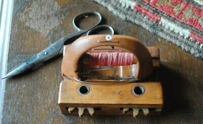 Antique Ribbon Weaving Loom #34 (Richl & Son ?) Great Working Condition W/Scisso