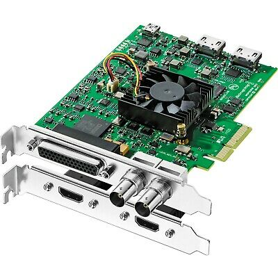Blackmagic Design DeckLink Studio HD-SDI PCI-Express + external breakout cable