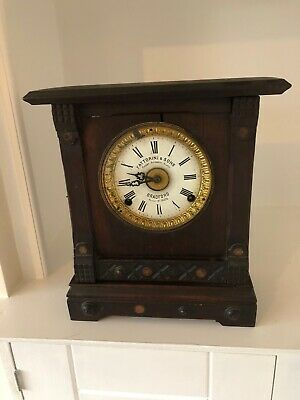 Late 19th Century Fatorini & Sons Bradford Patent Automatic Alarm Clock