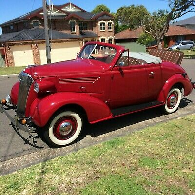 1937 holden bodied chev sports roadster 1 of 184 built and only 5 known left