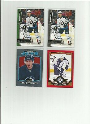 Mark Scheifele Lot 4 Opc Red Parkhurst Black Platinum Retro 2016