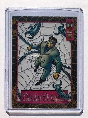 1994 Fleer The Amazing Spider-Man SUSPENDED ANIMATION Chase Card #9 DR. OCTOPUS