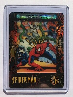2002 ArtBox Spider-Man FilmCardz CHASE Card #Ph7 SPIDER-MAN VS. THE SINISTER SIX