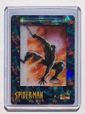 2002 ArtBox Spider-Man FilmCardz RARE CHASE Card #R1 IT'S A SCORCHER OUT THERE!