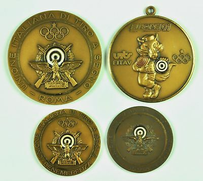 Italy Republic Protect Medal not Portable all M Olympics Rings