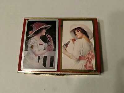 Vintage 1985 Coca-Cola Playing Cards Double Set By Congress