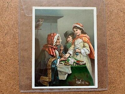 Vintage Dr Jayne's Tonic Vermifuge Gipsy Quack Medicine Advertising Trade Card