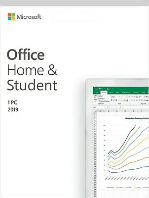 *Genuine* Microsoft Office Home and Student 2019 PC SKU 79G-05011