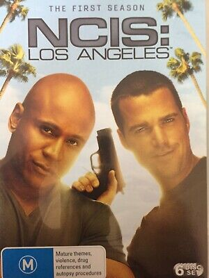 NCIS LOS ANGELES - Season 1 6 x DVD Set Exc Cond! Complete First Series One
