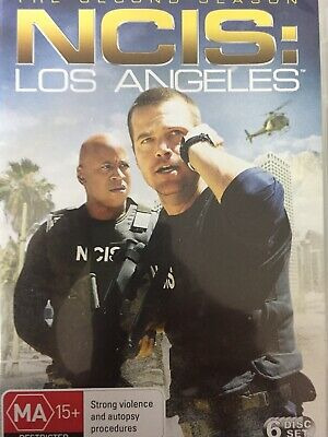 NCIS LOS ANGELES - Season 2 6 x DVD Set Great Cond! Complete Second Series Two