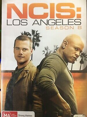 NCIS LOS ANGELES - Season 8 6 x DVD Set Great Cond! Complete Eighth Series Eight