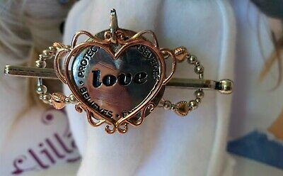"""Lilla Rose """"Love Is""""  Flexi Hair Clip Size Small """"Brand New"""" #2764"""