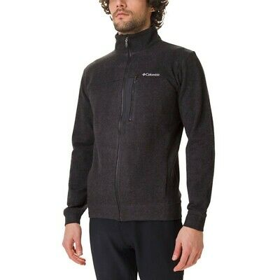 - Columbia Panorama Fleece Uomo Full Zip, Nero