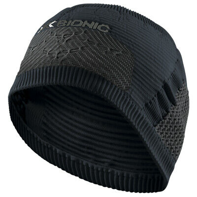 - X-Bionic High Headband 4.0 Fascia Testa Invernale, Black/Charcoal
