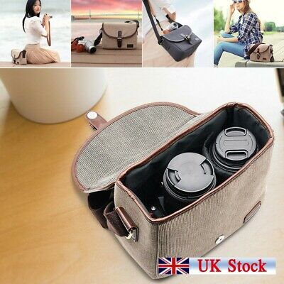 Waterproof DSLR SLR Photography Carry Bag Lens Case For Canon Nikon Sony BR