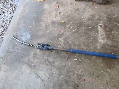 """Record 233  3/4"""" - 4"""" Chain Pipe Wrench"""