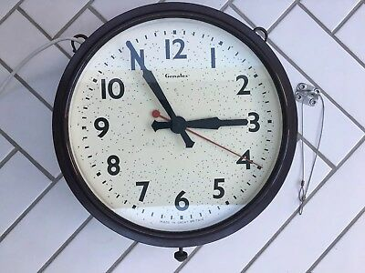 Genalex double sided 1920s station clock