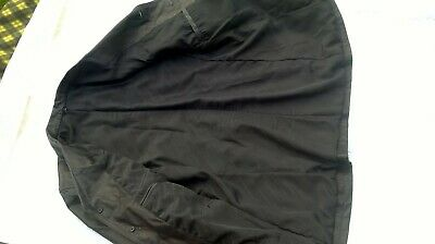 Mens Vintage Hugo Boss Casual Leather Box Jacket Size S/M Black Leather